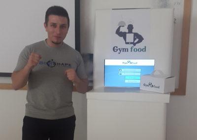 GymFood Kiosk Prototype