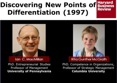 Discovering New Points of Differentiation HBR