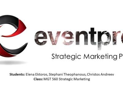 Eventpro Strategic Marketing Plan