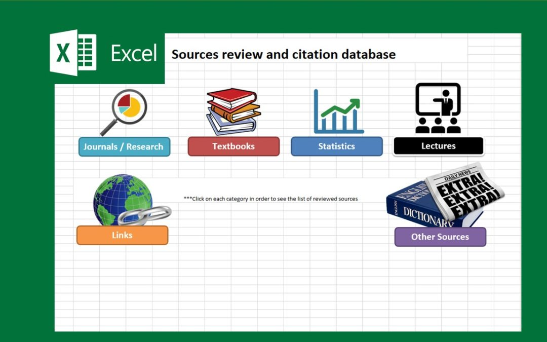 Sources Review and Citation Database