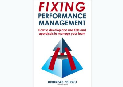 Figure design for the book: Fixing Performance Management