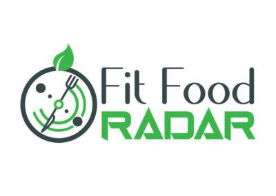 Fit Food Radar Logo Design