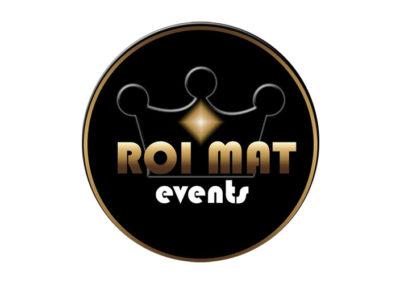 Roi Mat Events Logo Design
